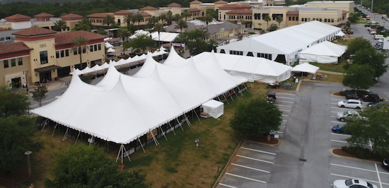 Large Variety of Tents for Rent