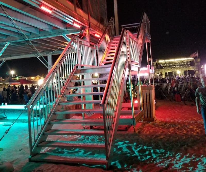 Doubledecker Tent Staircase