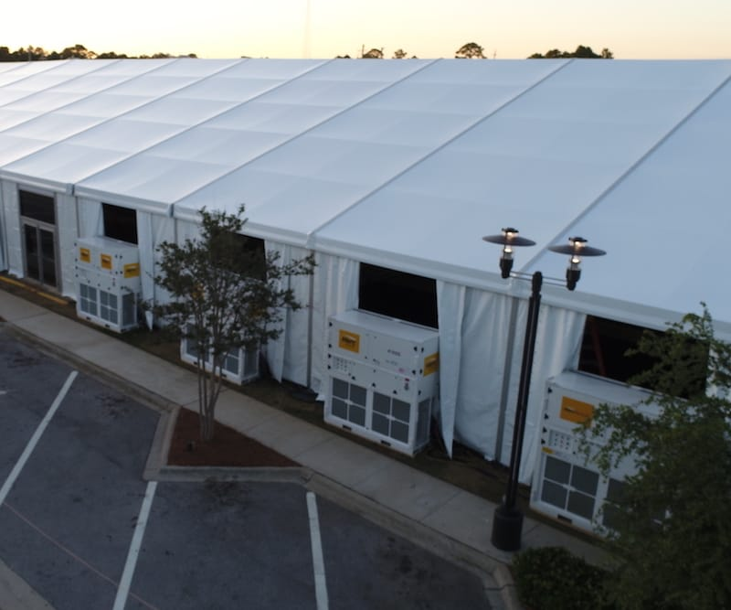 HVAC for Tents